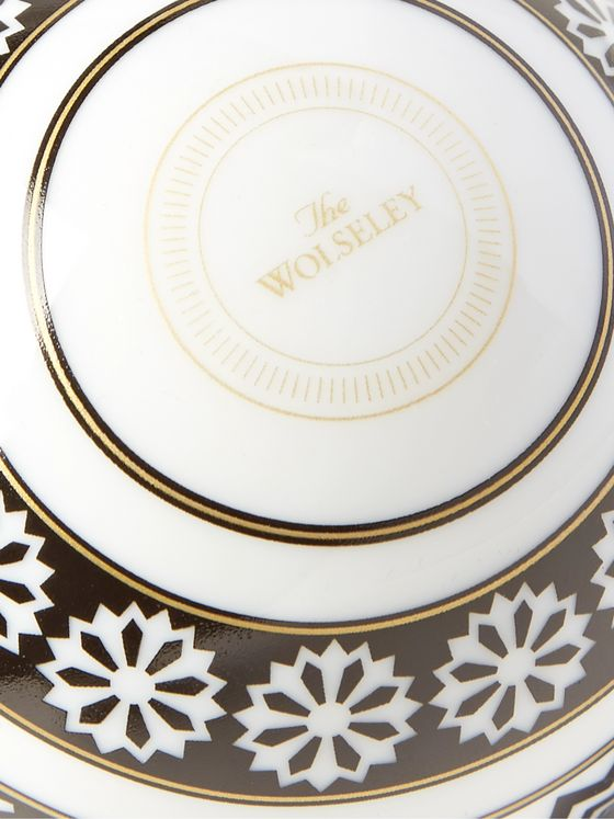 The Wolseley Collection + Halcyon Days Printed Bone China Bauble