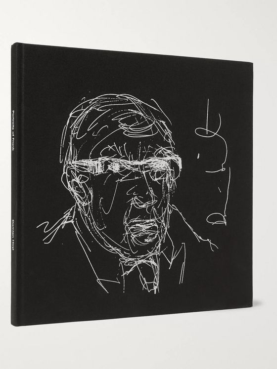 The Wolseley Collection Damien Hirst: Portraits of Frank Hardcover Book