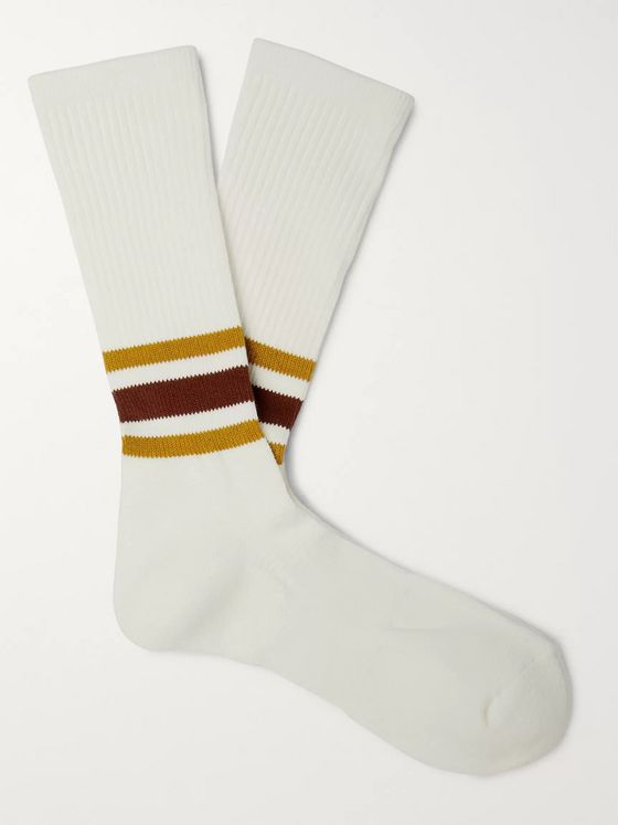Anonymous Ism Striped Knitted Socks