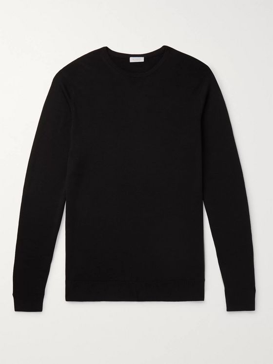 Sunspel Slim-Fit Merino Wool Sweater