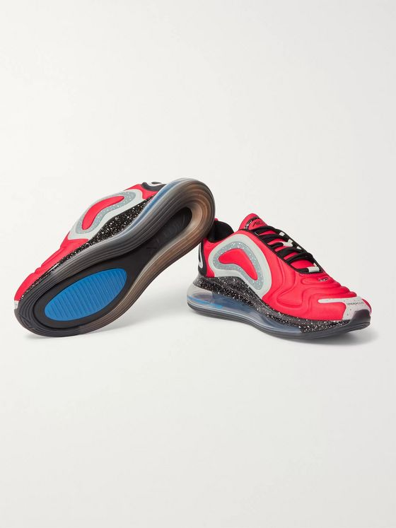 Nike + Undercover Air Max 720 Rubber-Trimmed Neoprene Sneakers