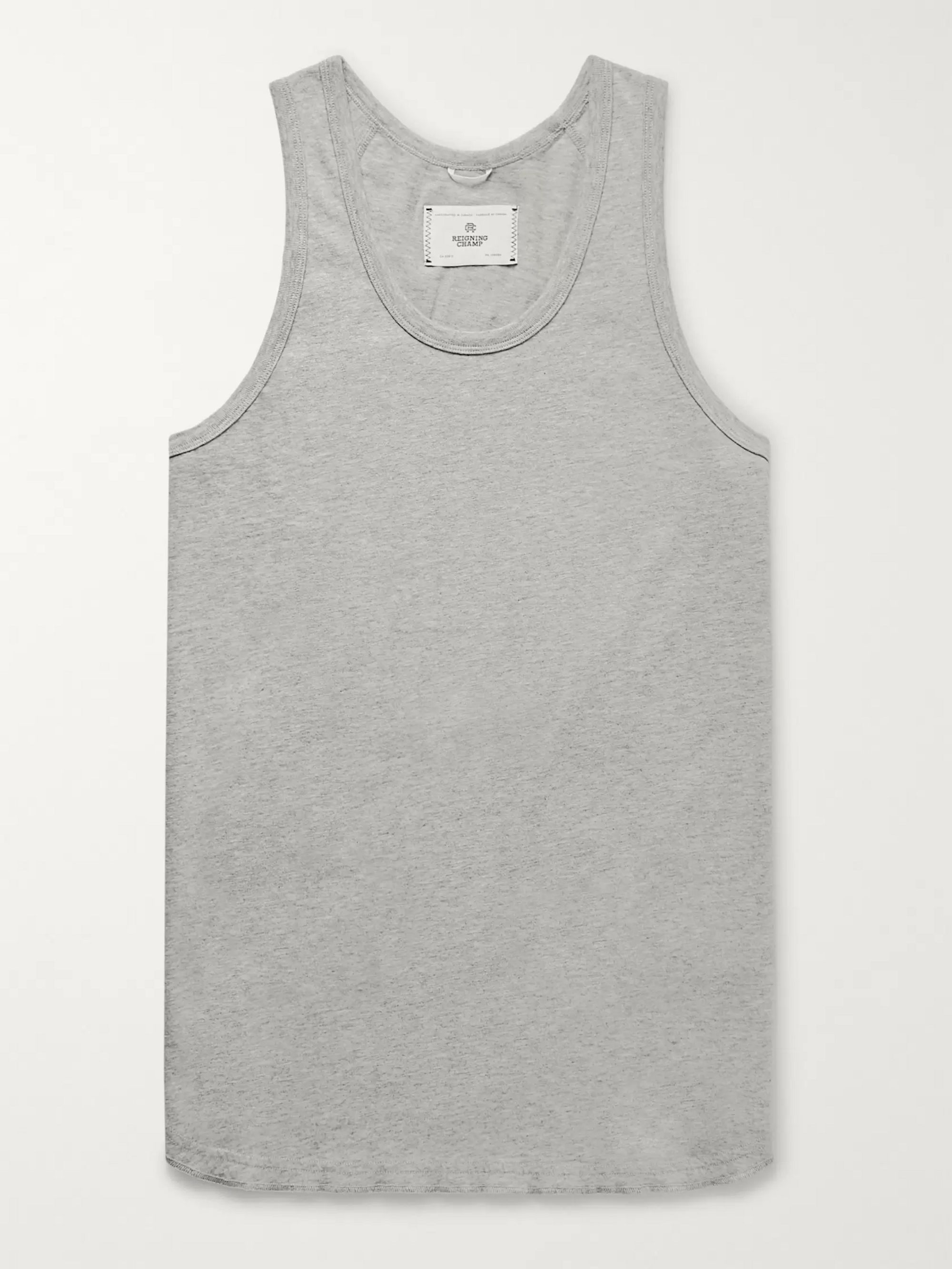 Reigning Champ Pima Cotton-Jersey Tank Top