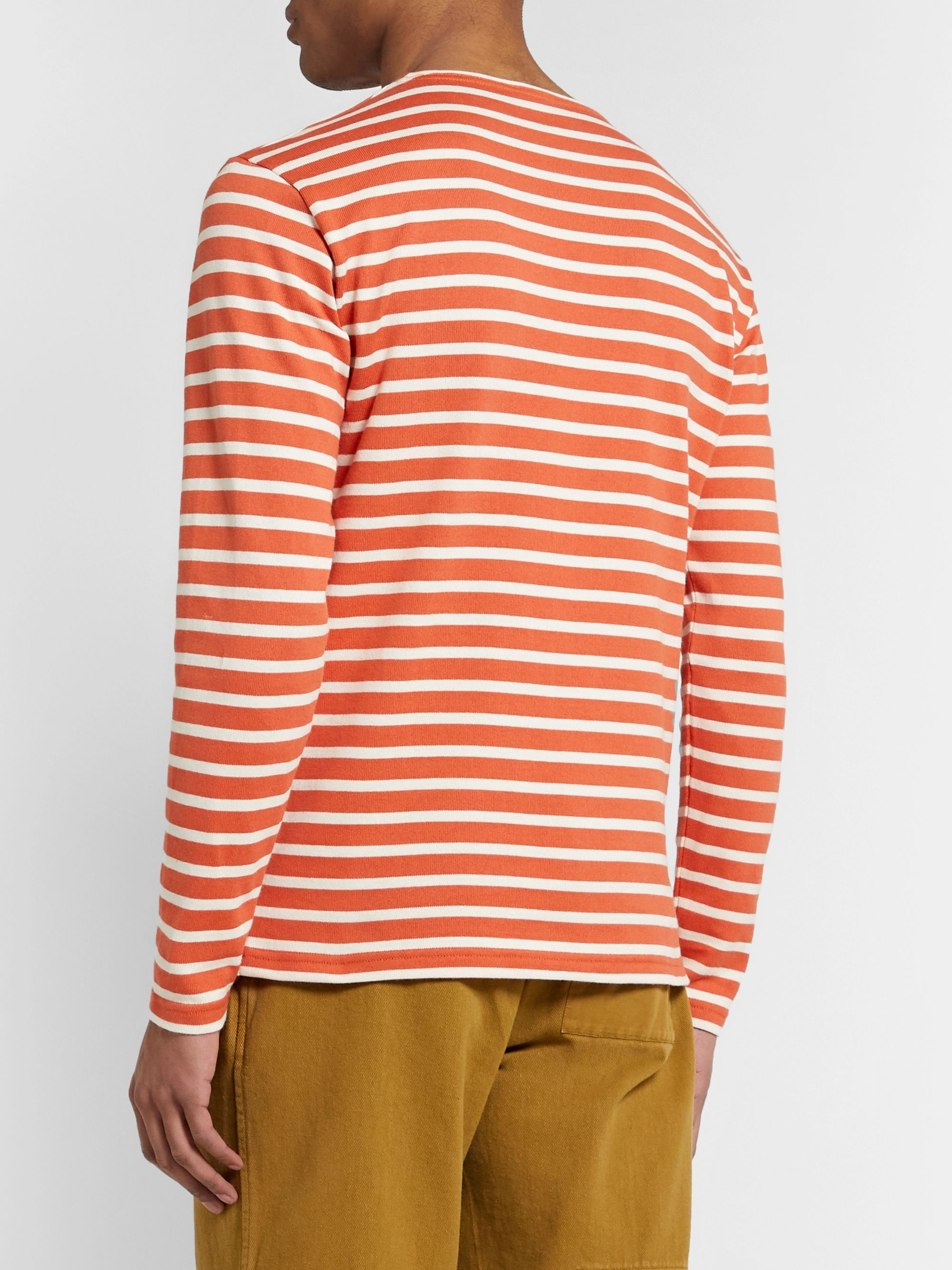 Armor Lux Striped Cotton T-Shirt