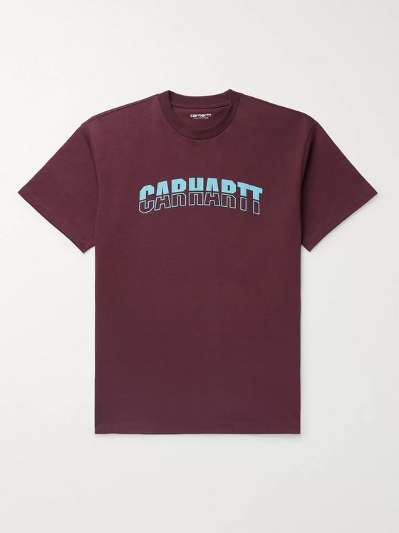 Carhartt WIP District Logo-Print Cotton-Jersey T-Shirt