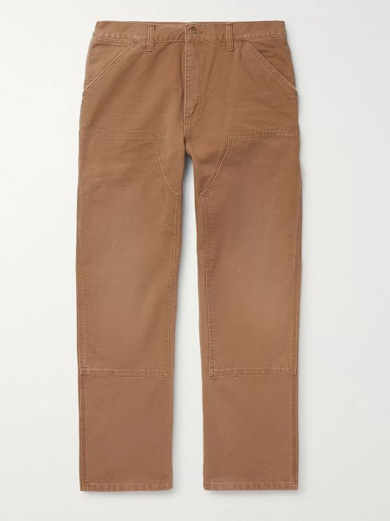 Carhartt WIP Organic Cotton-Canvas Cargo Trousers