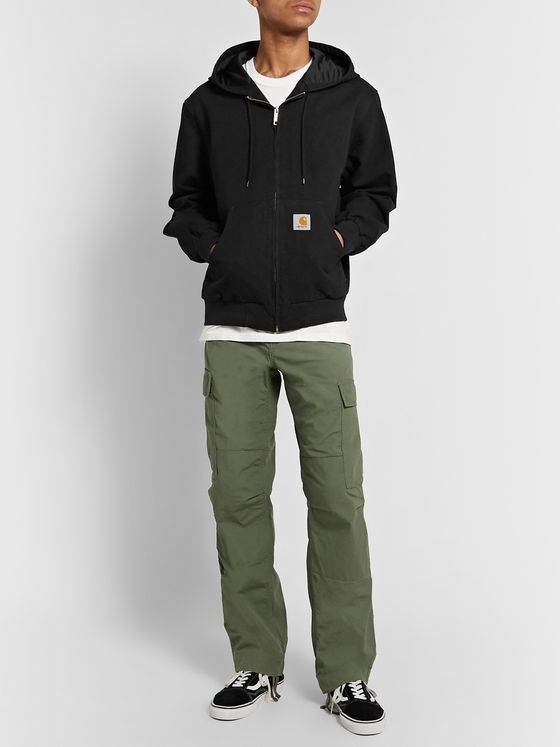 Carhartt WIP Active Organic Cotton-Canvas Hooded Jacket