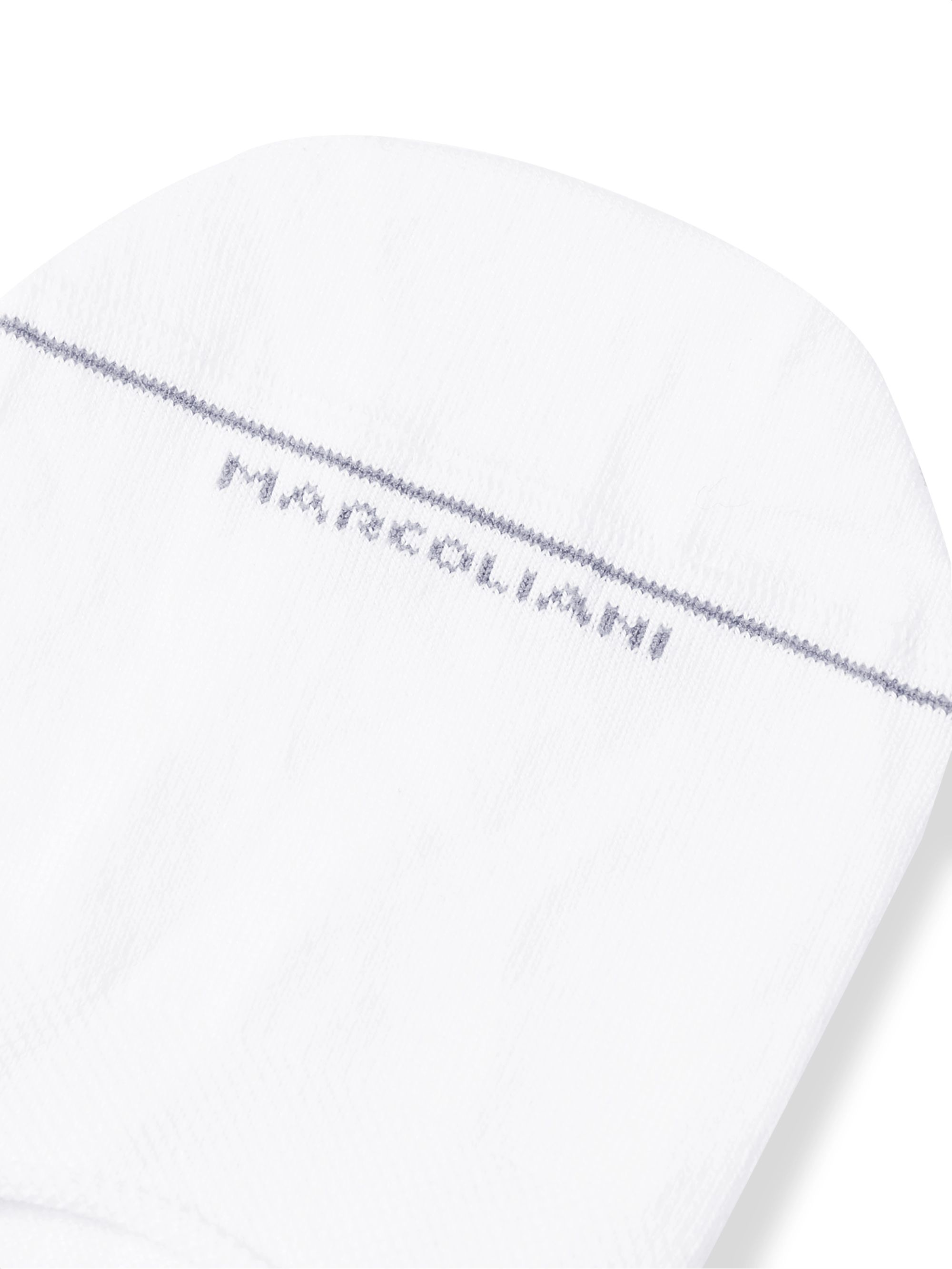 Marcoliani Invisible Touch Stretch Pima Cotton-Blend No-Show Socks
