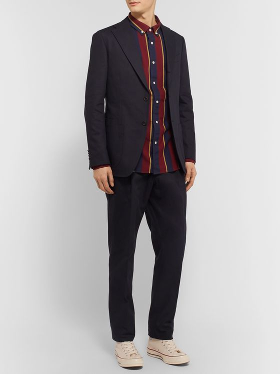 Aimé Leon Dore + Drake's Brown Cavalry Cotton-Twill Suit