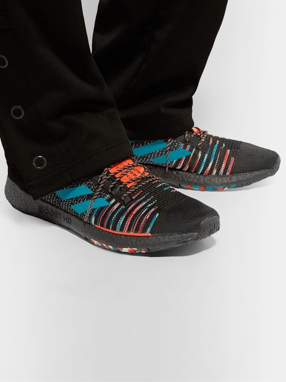 adidas Consortium + Missoni PulseBOOST HD Stretch-Knit Sneakers