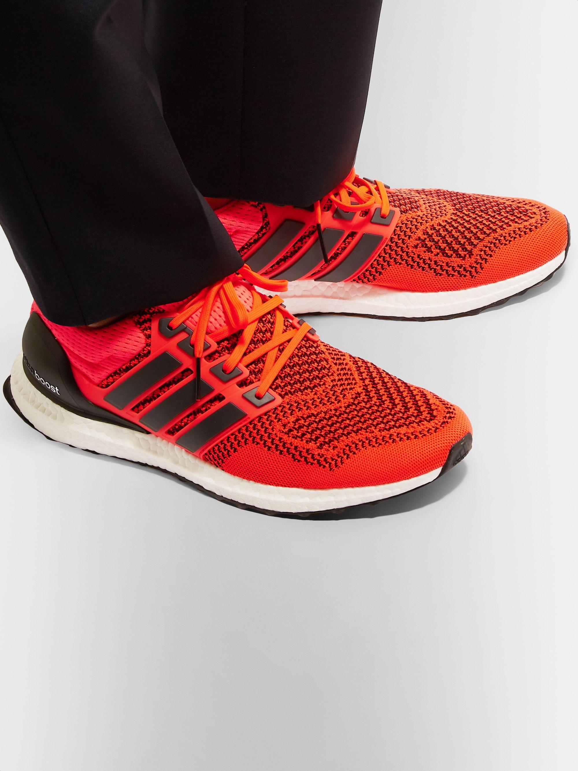 UltraBOOST 1.0 Rubber-Trimmed Primeknit Running Sneakers