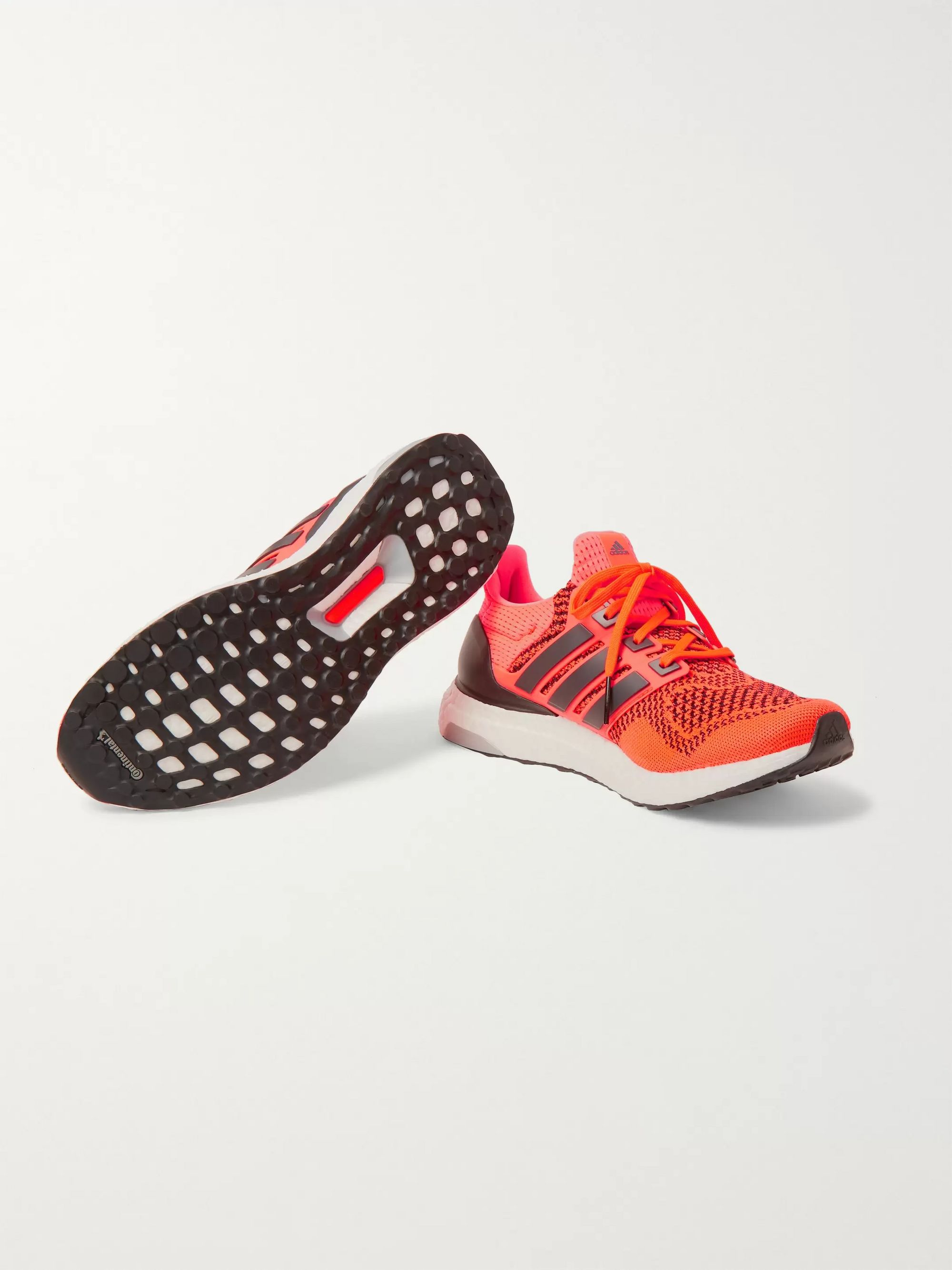 UltraBOOST 1.0 Rubber Trimmed Primeknit Running Sneakers