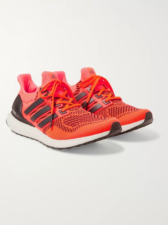 adidas Consortium UltraBOOST 1.0 Rubber-Trimmed Primeknit Running Sneakers
