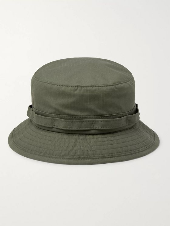 Beams Plus Cotton-Blend Ripstop Bucket Hat