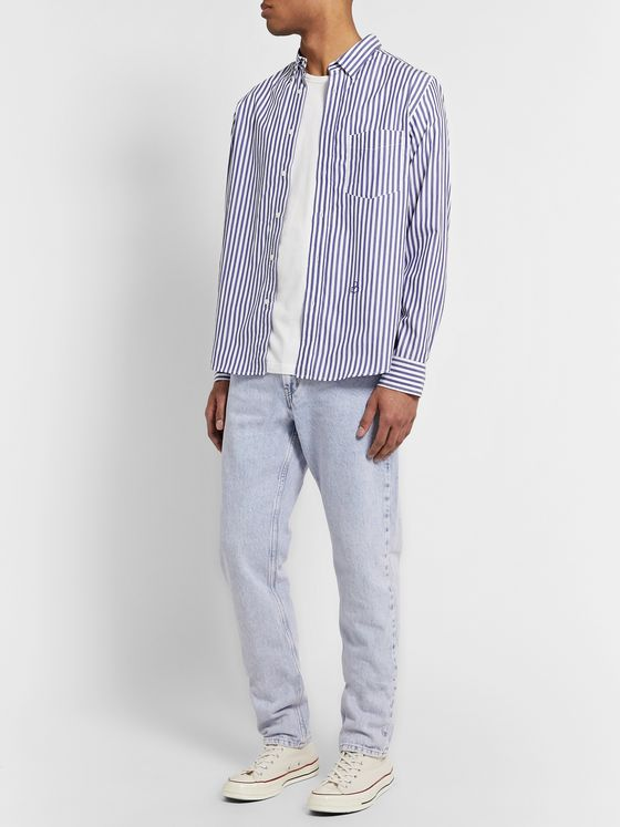 Isabel Marant Jason Striped Cotton Shirt