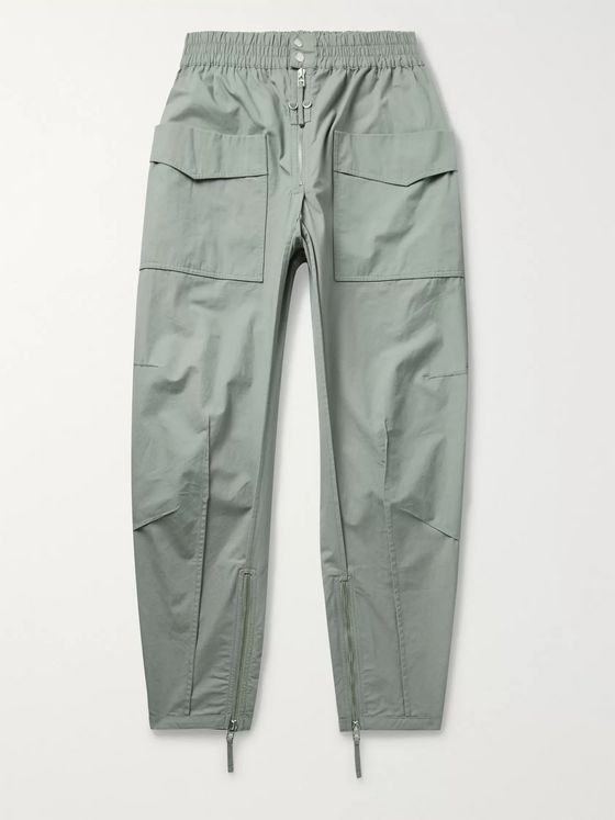 Isabel Marant Tilsen Tapered Cotton Cargo Trousers