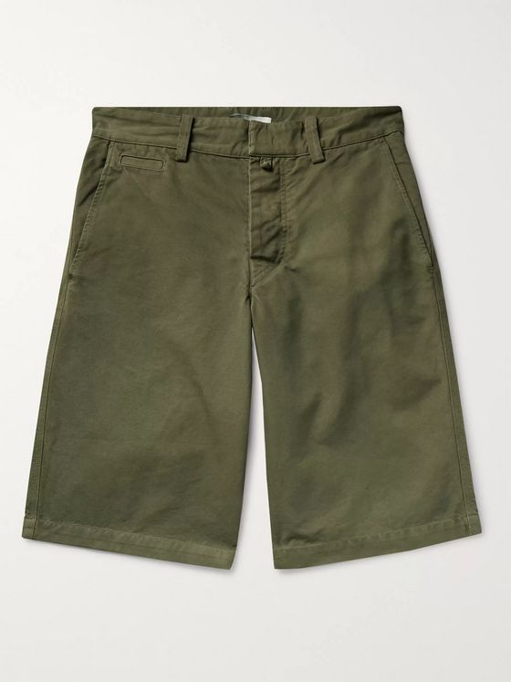 Isabel Marant Lorian Cotton-Canvas Shorts