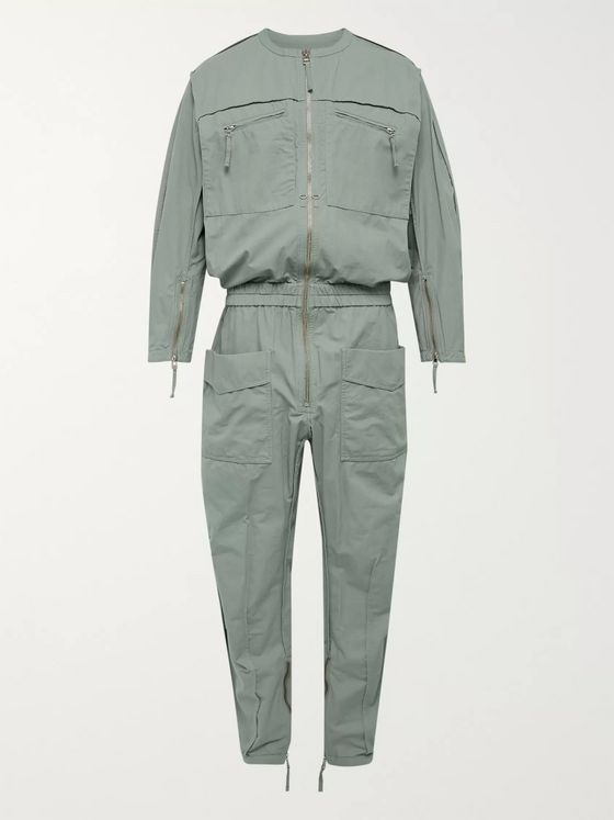 ISABEL MARANT Trevor Cotton-Canvas Boiler Suit