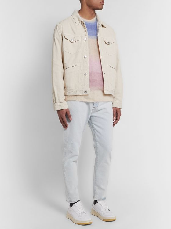Isabel Marant Iscot Cotton-Corduroy Trucker Jacket