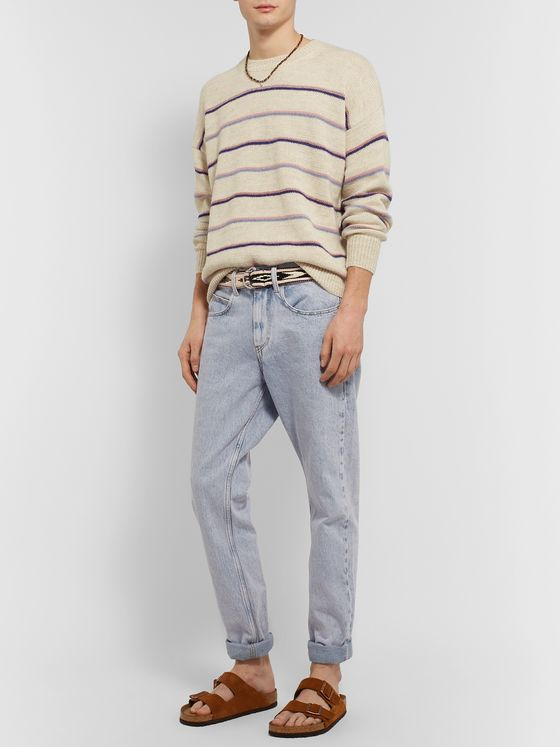 Isabel Marant Jack Acid-Wash Denim Jeans