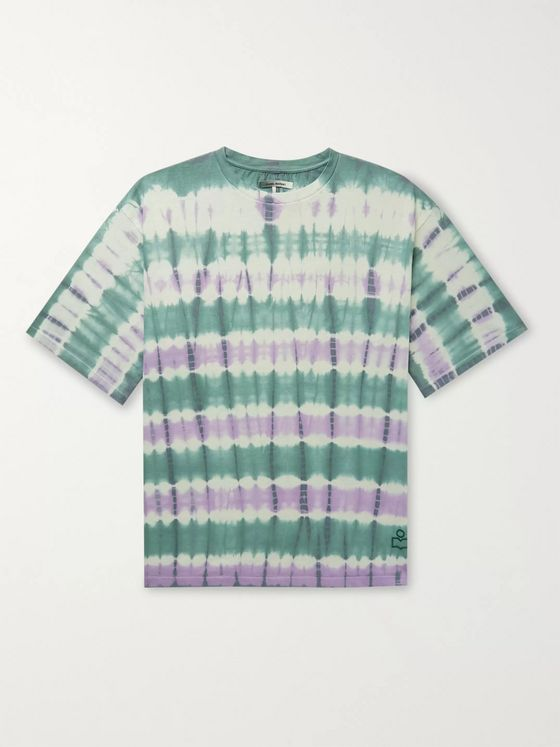 Isabel Marant Pondy Tie-Dyed Cotton-Jersey T-Shirt