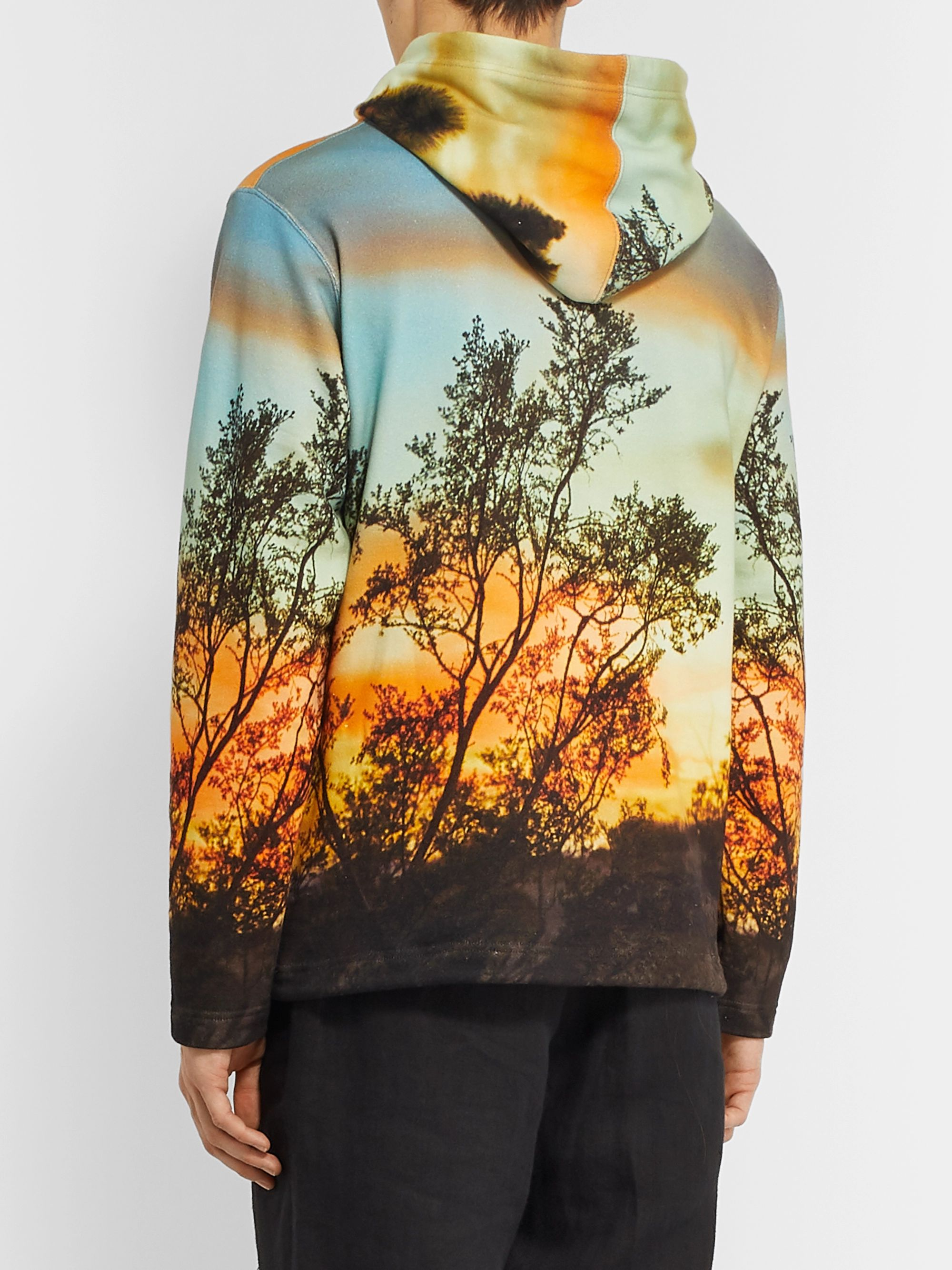 Neighborhood + UGG Printed Loopback Cotton-Jersey Hoodie