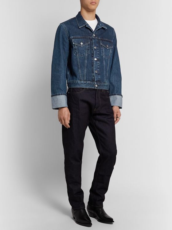 Helmut Lang Selvedge Denim Trucker Jacket