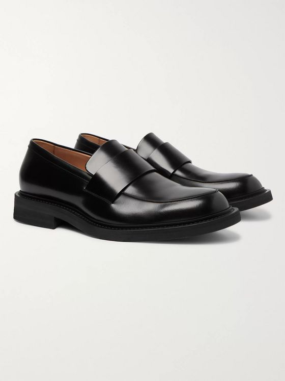 Bottega Veneta Leather Loafers