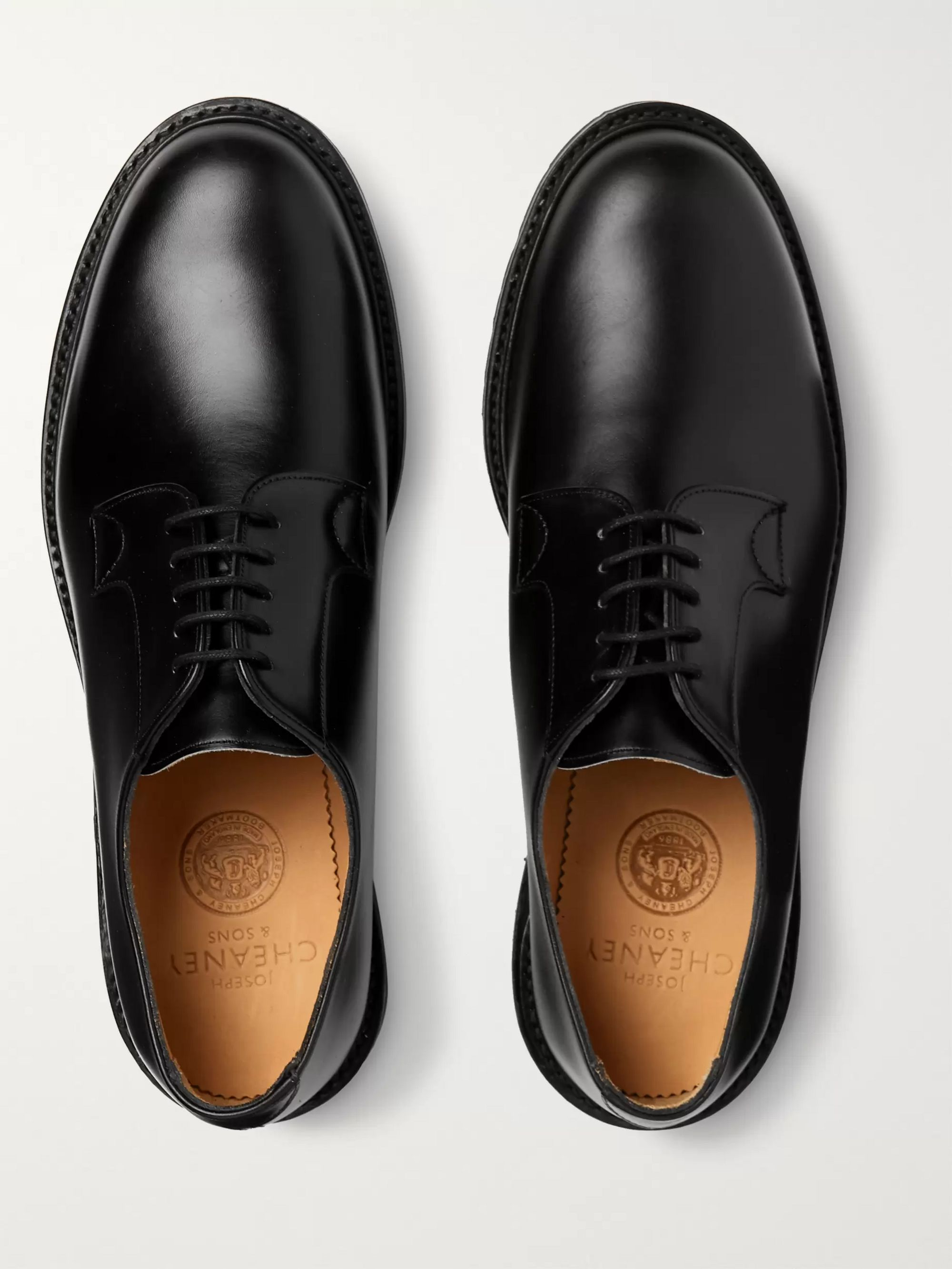 Cheaney Covent Leather Derby Shoes