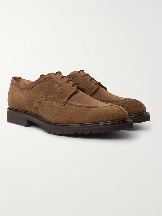 Cheaney Newton Suede Derby Shoes