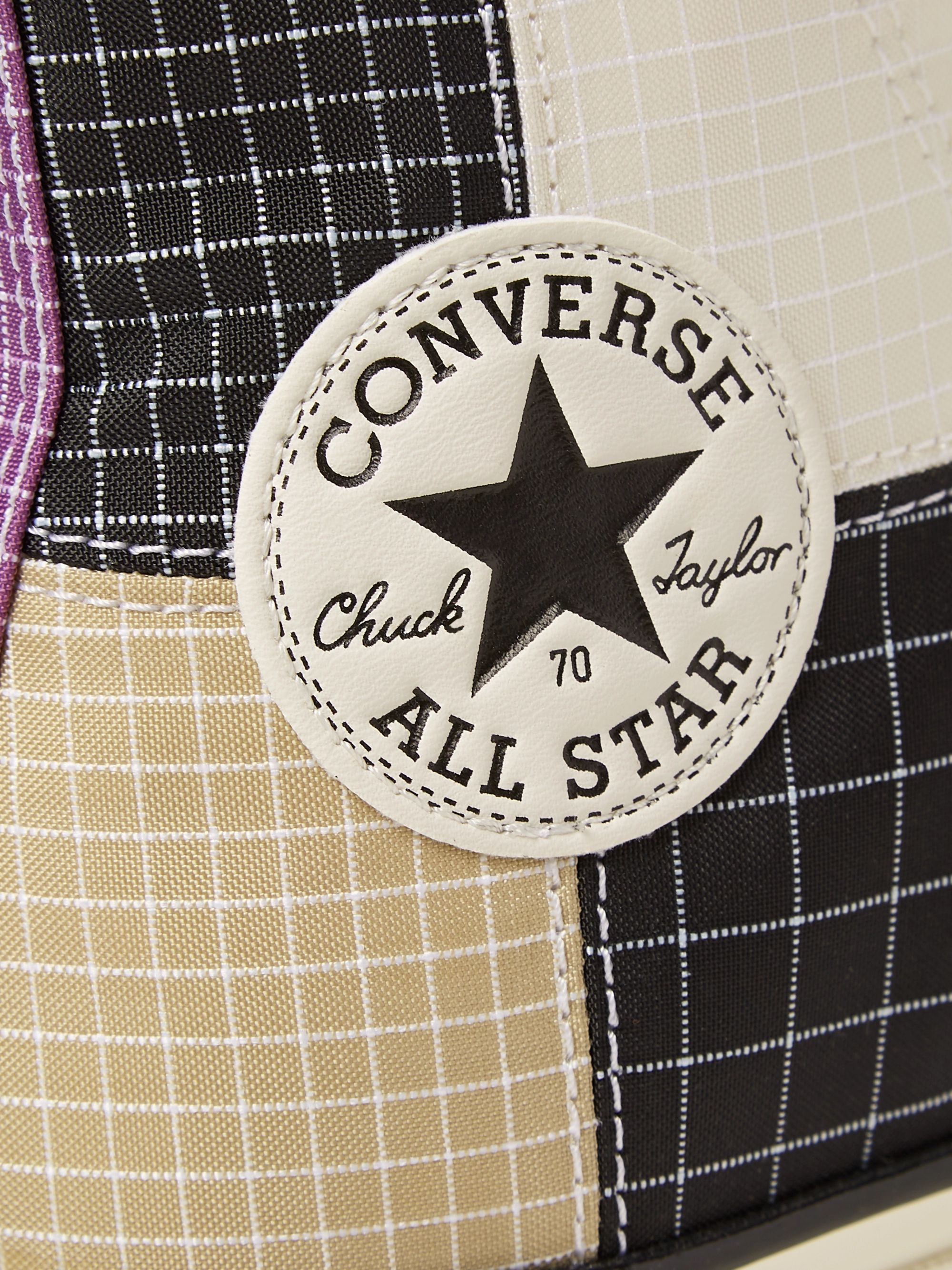 Converse Chuck 70 Patchwork Ripstop High-Top Sneakers
