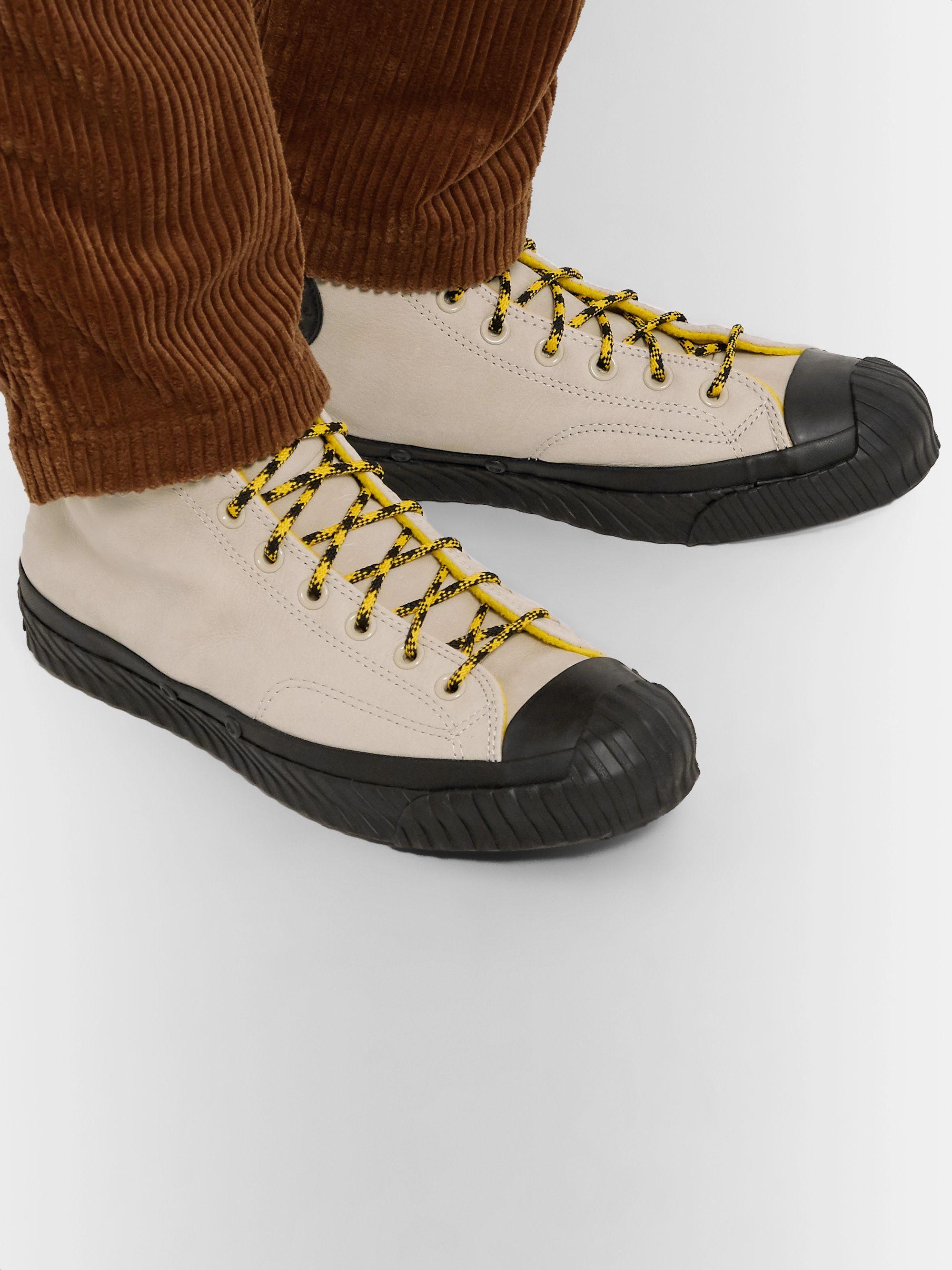 Bosey Chuck 70 Fleece Lined Nubuck High Top Sneakers