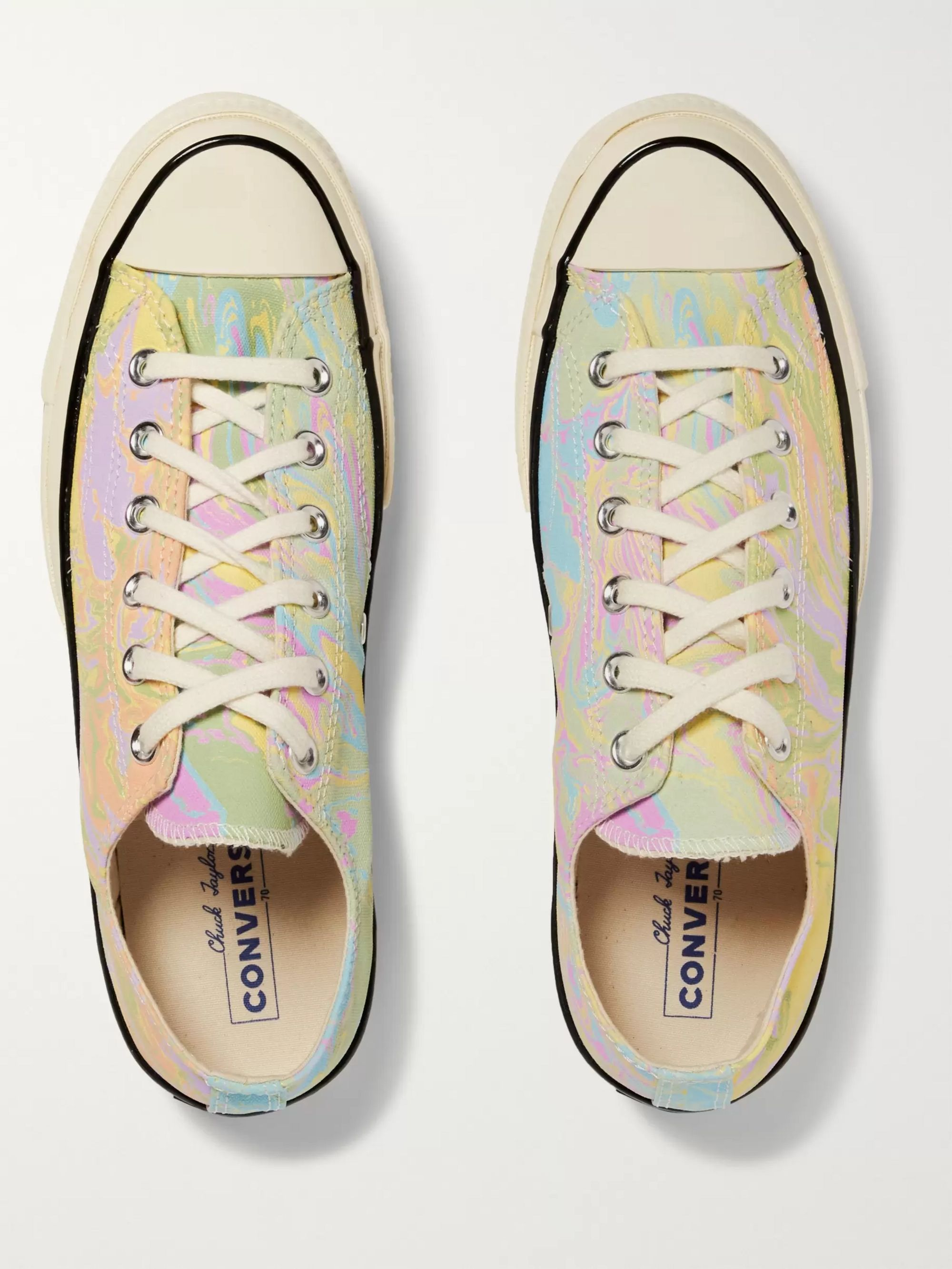 Converse Chuck 70 Marbled Canvas Sneakers