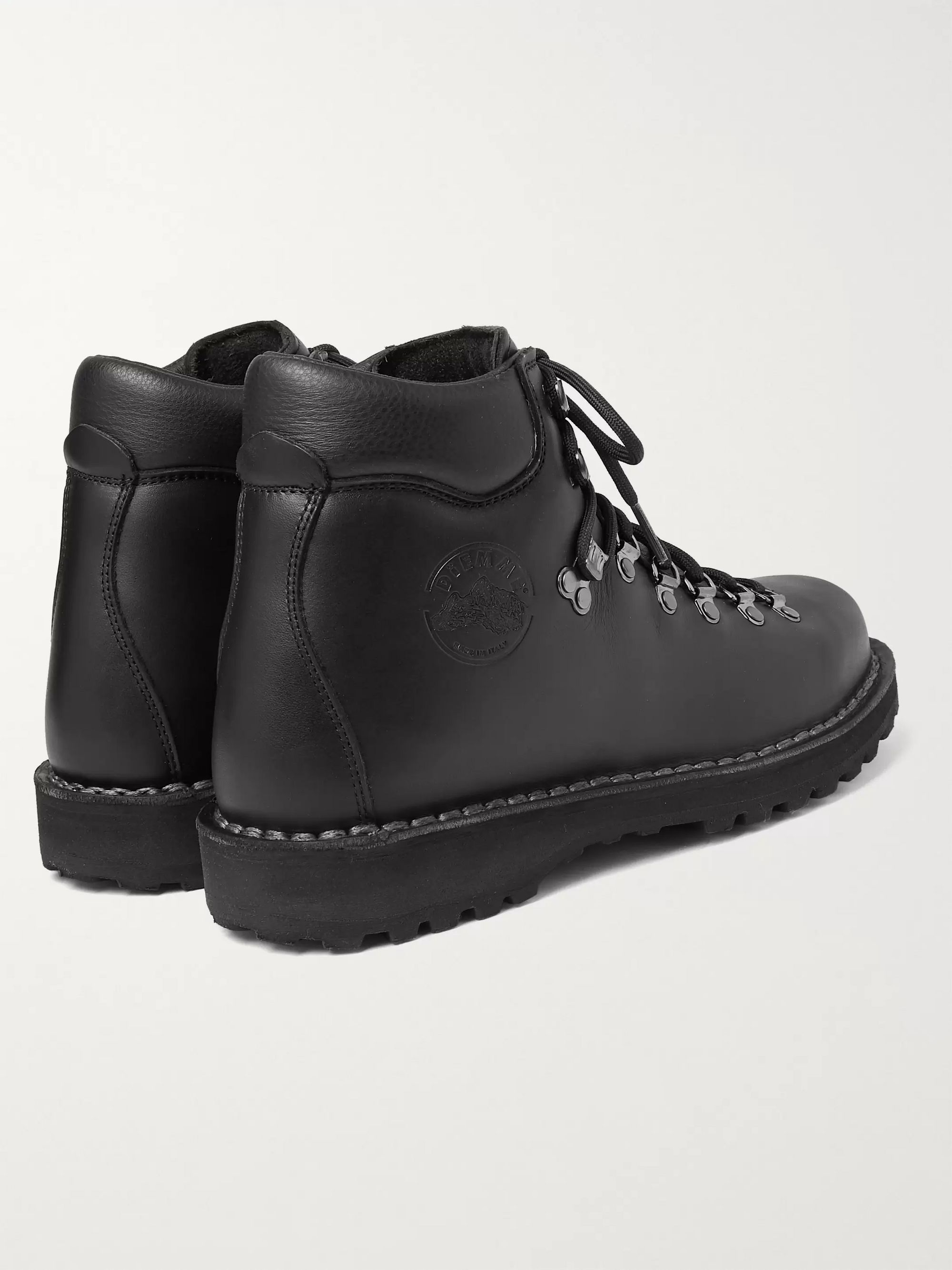 Diemme Roccia Vet Shearling-Lined Leather Boots