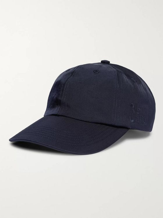 AFFIX Embroidered Nylon-Twill Baseball Cap