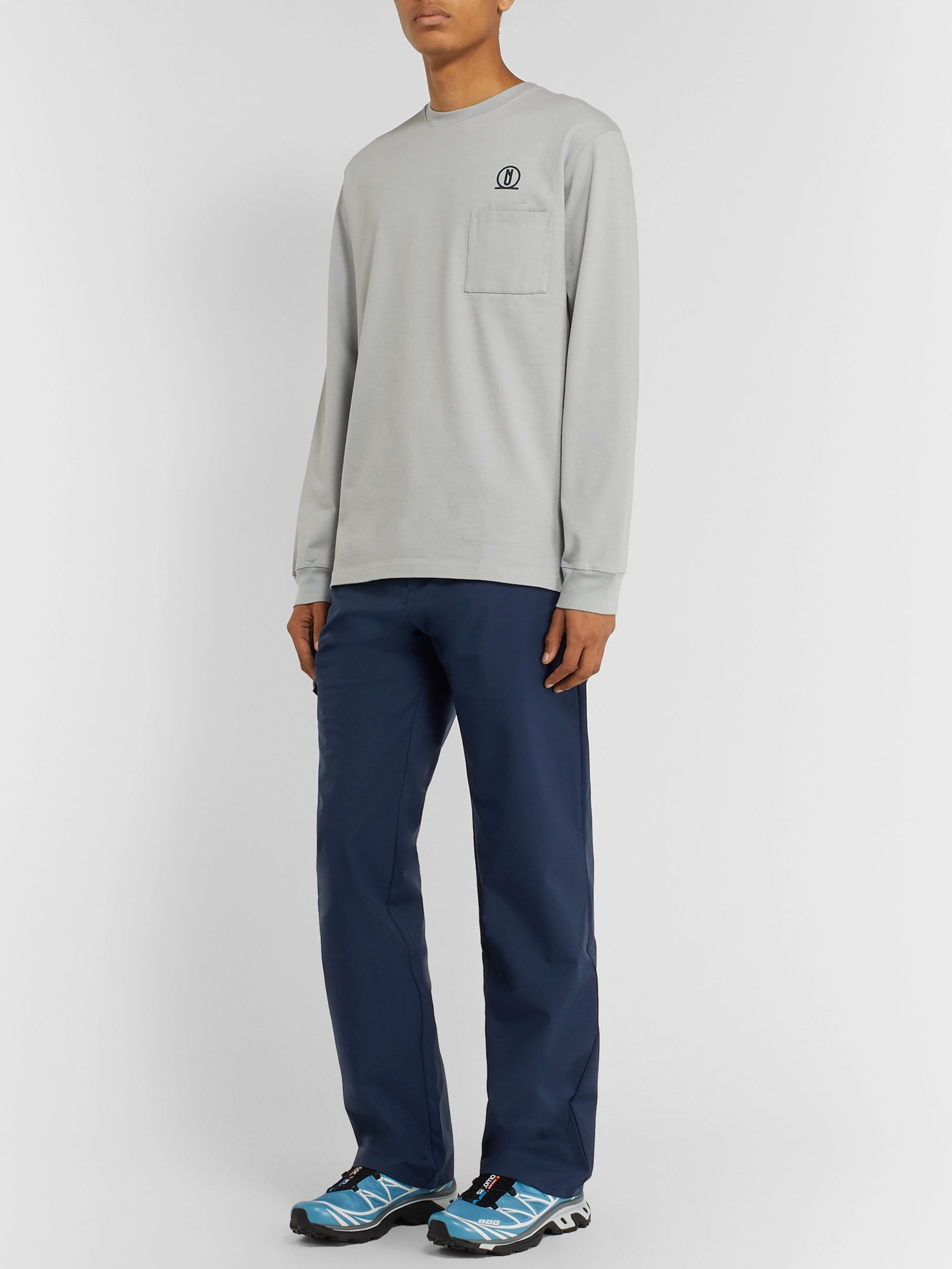 AFFIX Grey Shell Trousers