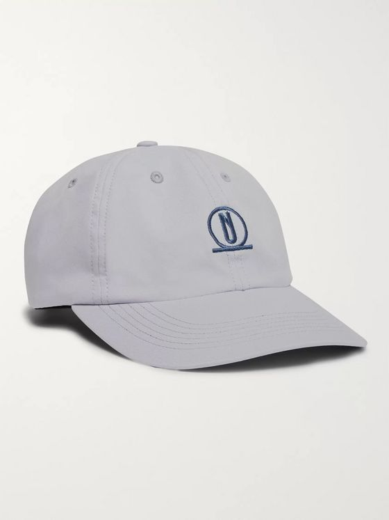 AFFIX Logo-Embroidered Nylon-Twill Baseball Cap