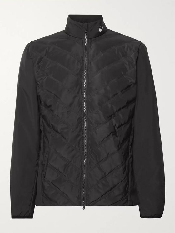 Nike Golf AeroLoft Repel Quilted Zip-Up Golf Jacket
