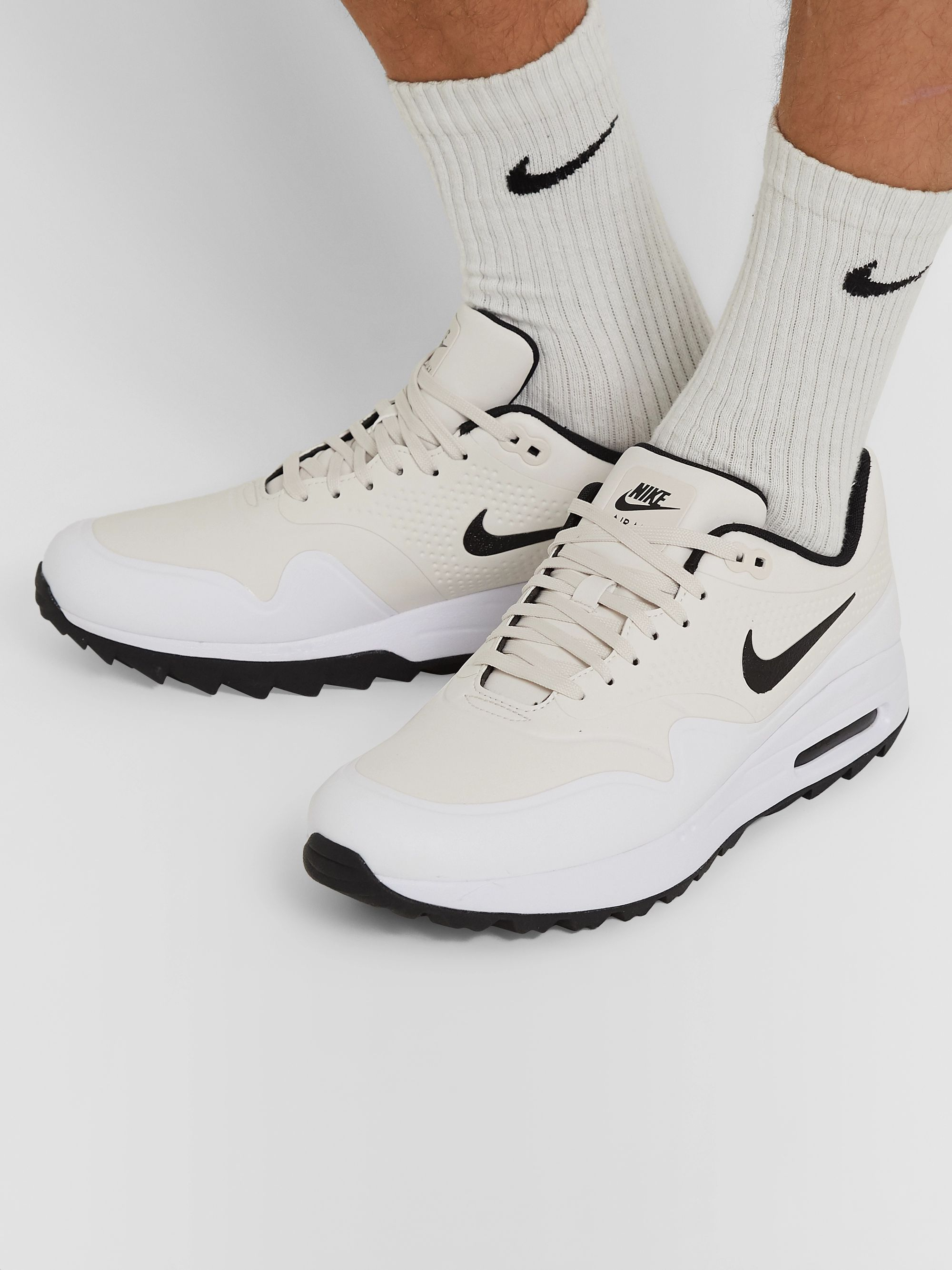Nike Air Max 1 G Golf Shoes WhiteBlack