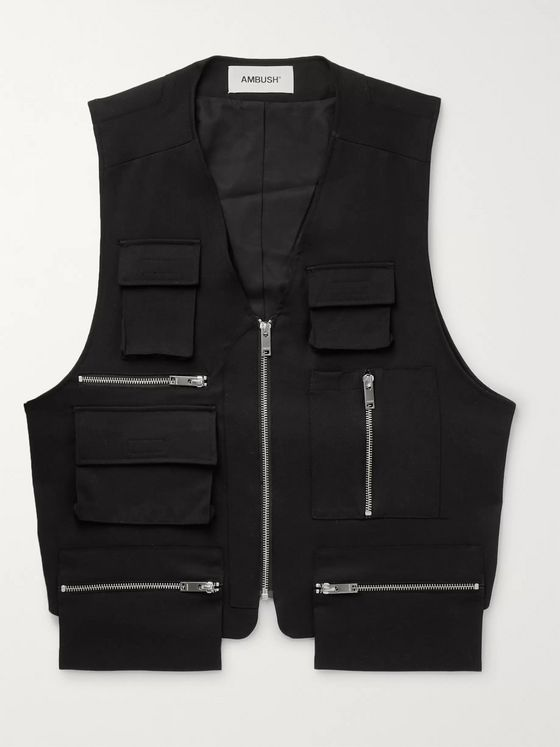 AMBUSH® Wool-Twill Gilet