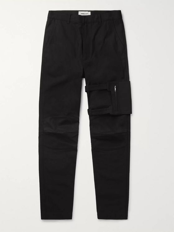 AMBUSH® Slim-Fit Cotton-Twill Trousers