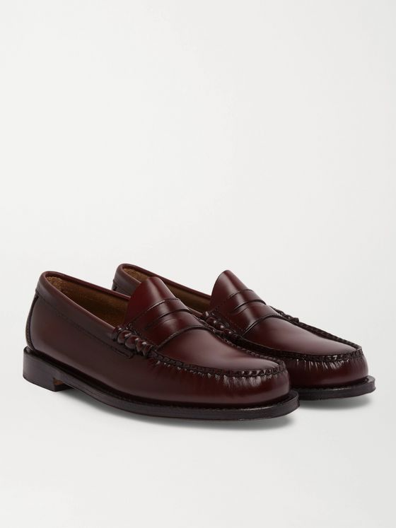 G.H. Bass & Co. Weejuns Heritage Larson Leather Penny Loafers