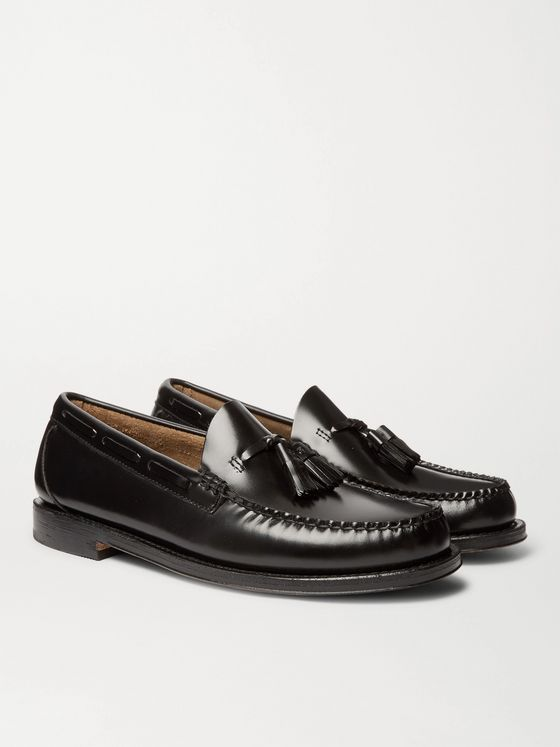 G.H. Bass & Co. Weejuns Larkin Leather Tasselled Loafers