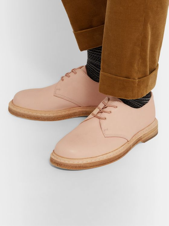 Hender Scheme + Dr Martens Manual Industrial Products 21 Leather Derby Shoes