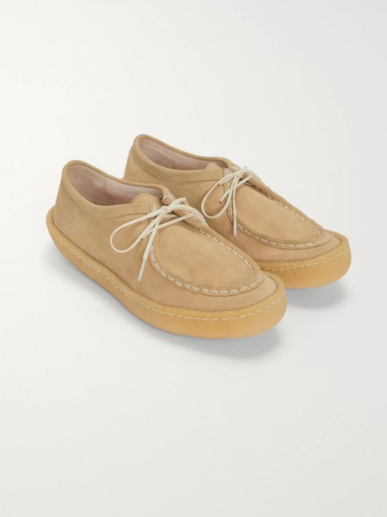 Hender Scheme Suede Derby Shoes