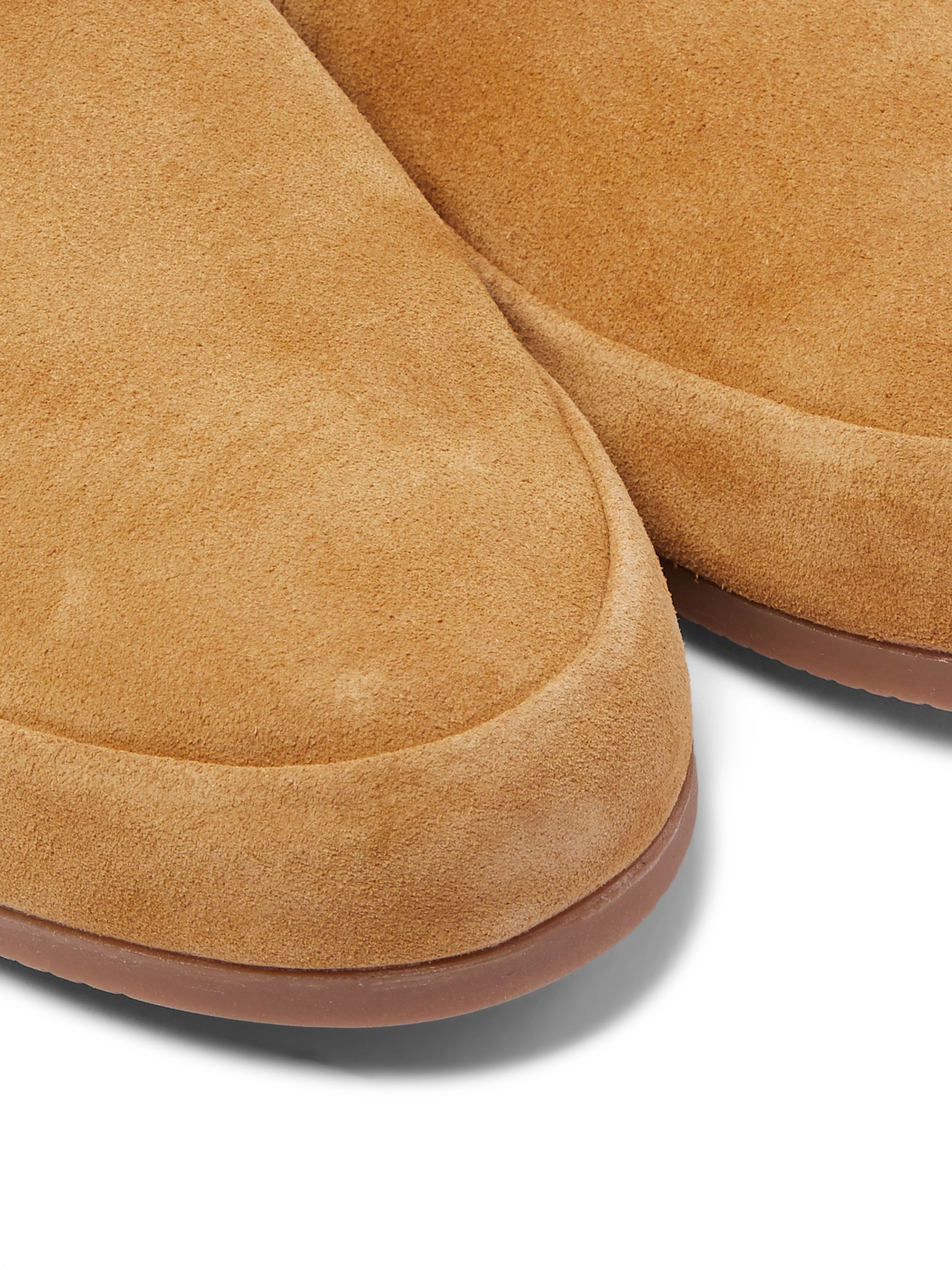Mulo Suede Backless Slippers