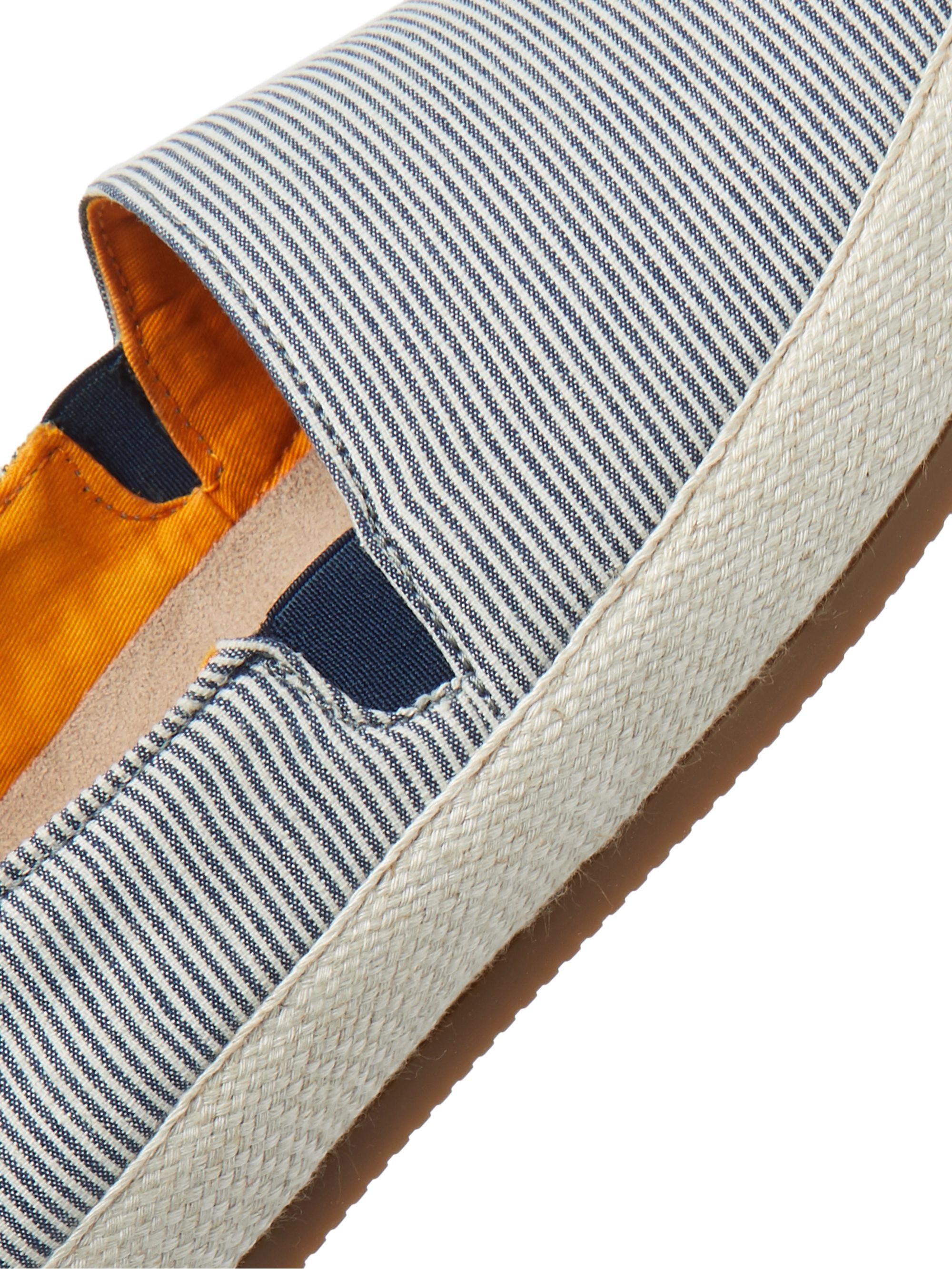 Mulo Striped Seersucker Espadrilles