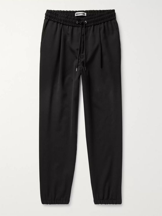 McQ Alexander McQueen Slim-Fit Tapered Woven Drawstring Track Pants
