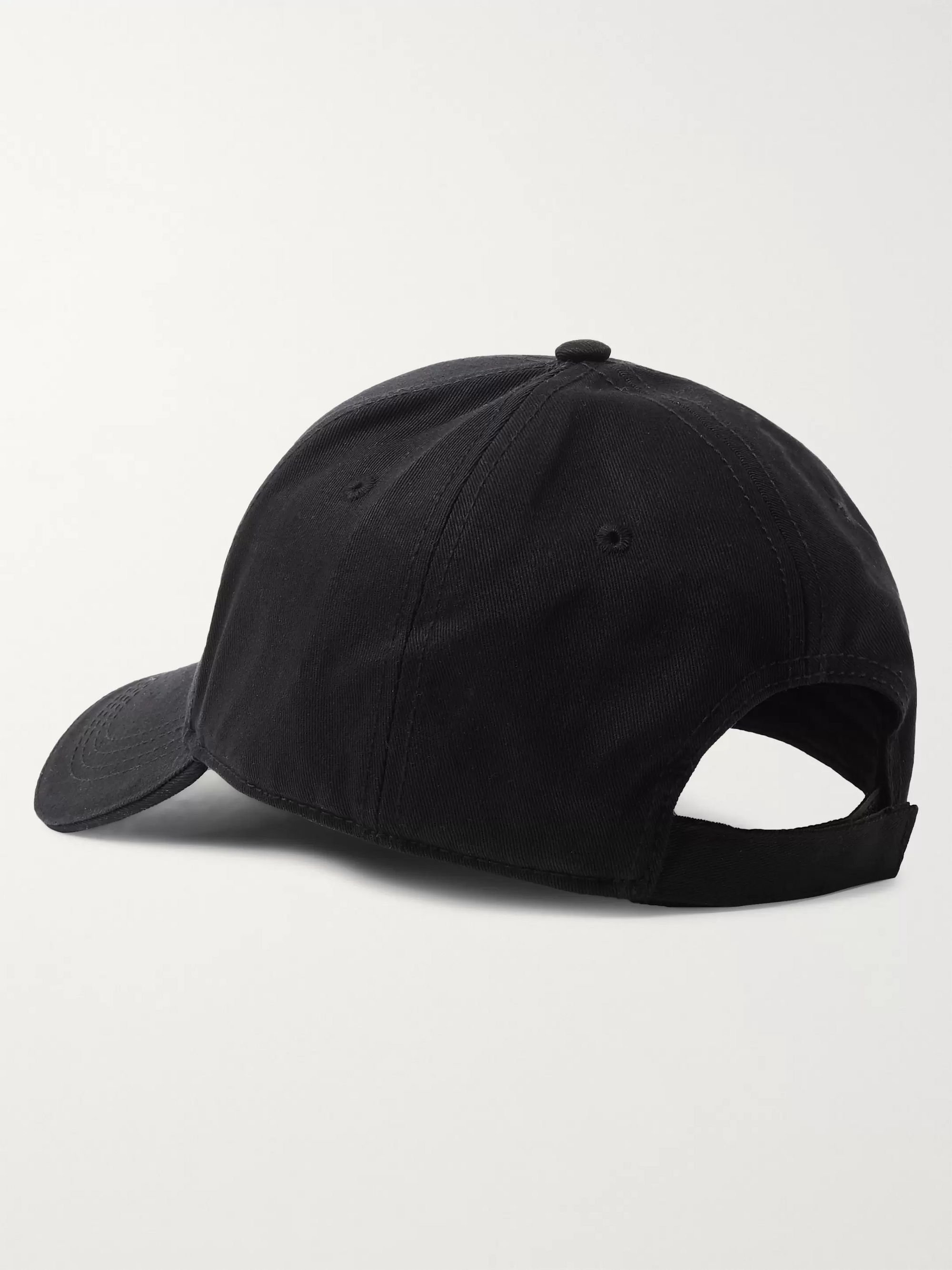 McQ Alexander McQueen Logo-Embroidered Cotton-Twill Baseball Cap