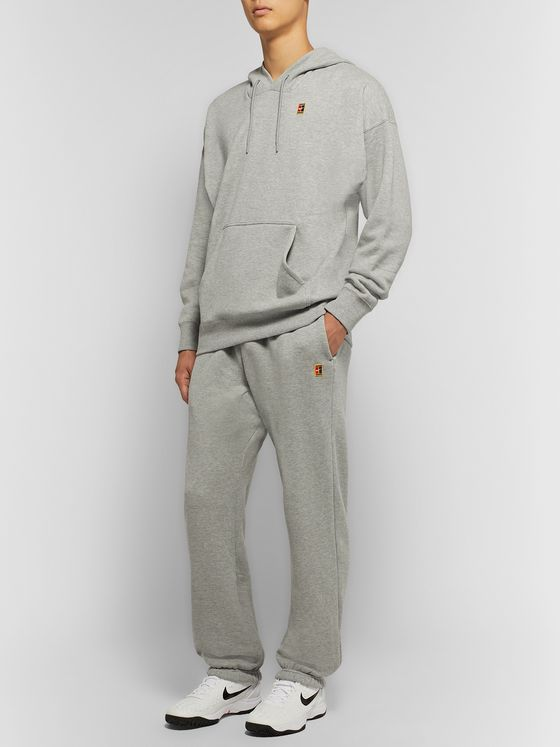 Nike Tennis NikeCourt Loopback Cotton-Jersey Sweatpants