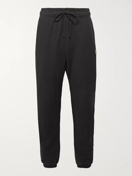 Nike Tennis NikeCourt Tapered Loopback Cotton-Jersey Sweatpants